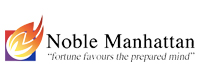 Noble Manhattan Coaching UK International Mobile Logo